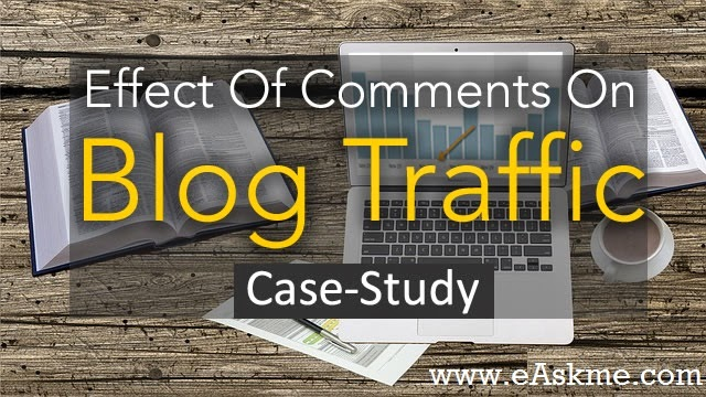Effects of Blog comments on Blog Traffic : eAskme