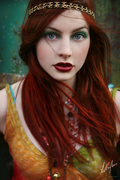 fashion 4 red hair color