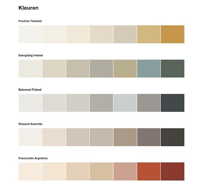 Interieurcursus opzoek naar kleurinspiratie couleur locale collectie flexa - Kleuren salon ...