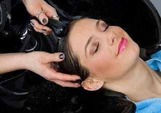 Healthy and strong hair tips