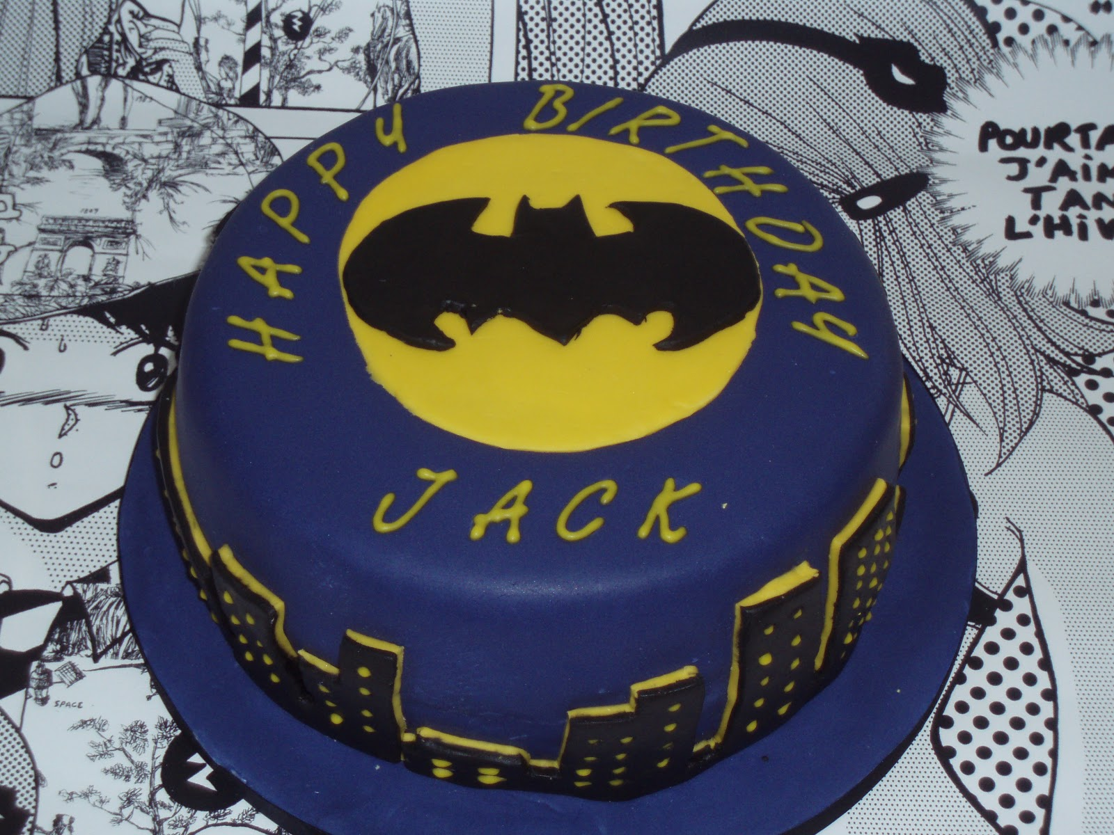 Chintzy Cakes: Batman Cake