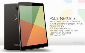 Nexus 8, nueva tablet de Google
