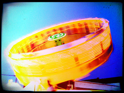 Spinning carnival ride