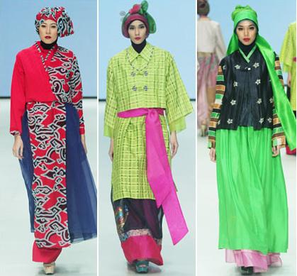 Foto Busana Muslim Model Baju Korea Hanbok Terbaru
