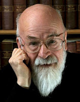 Terry Pratchett author photo