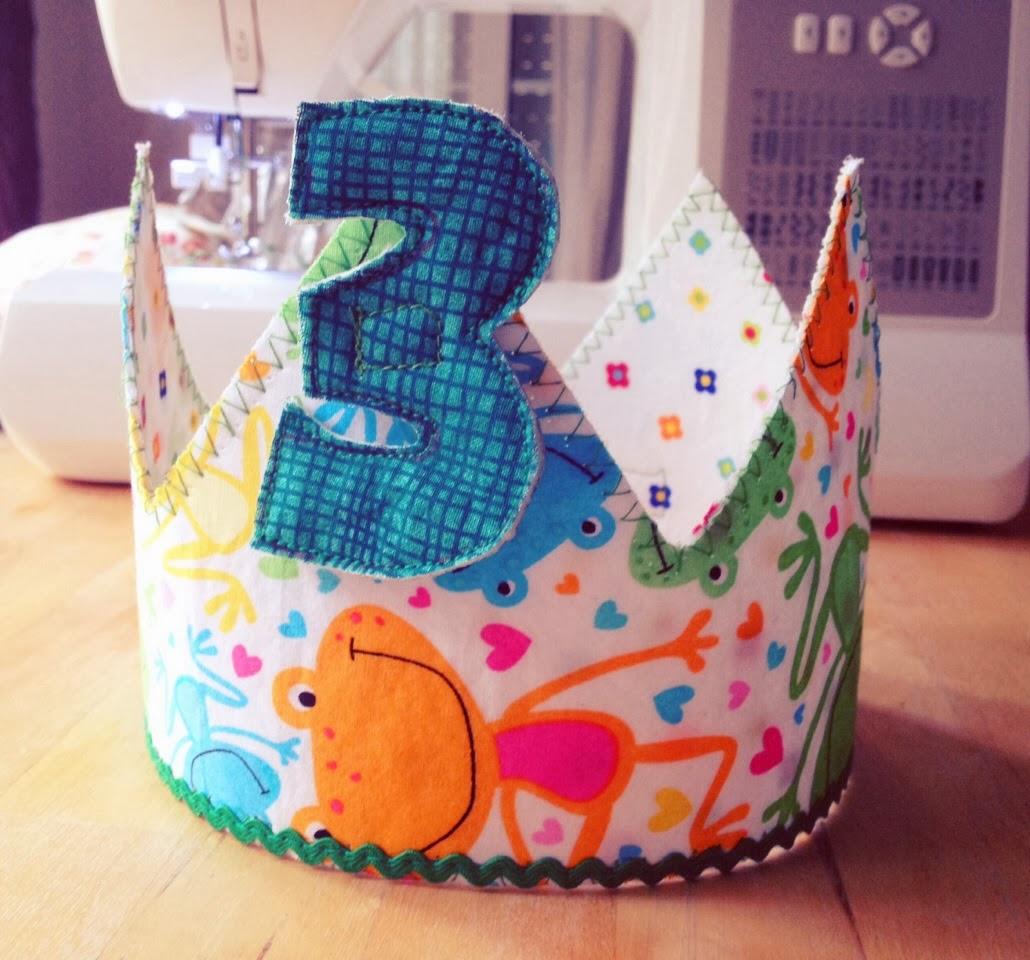 LeManualitArt: Corona de cumpleaños para niños