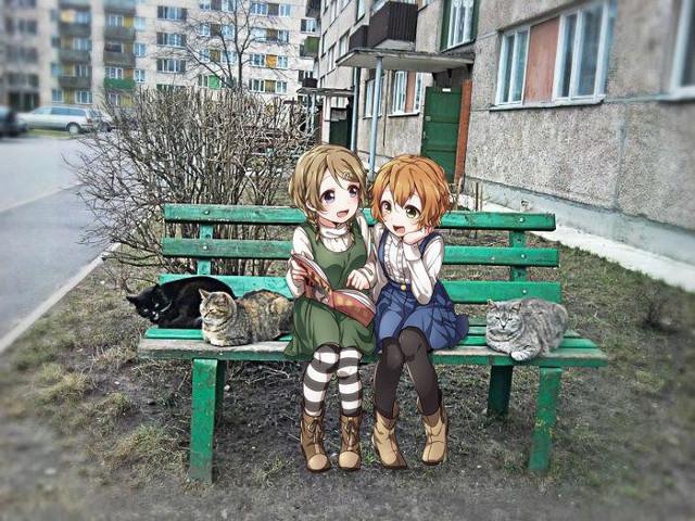 Dziewczynki z anime w realnym świecie