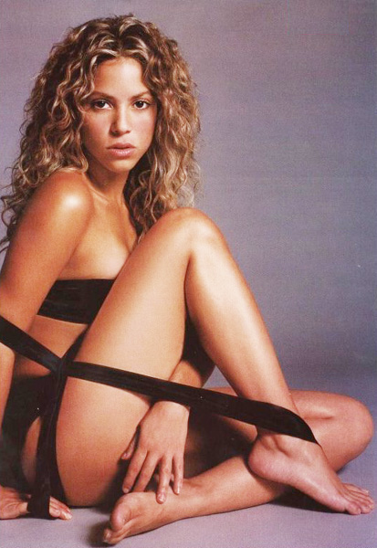 Шакира голи фото