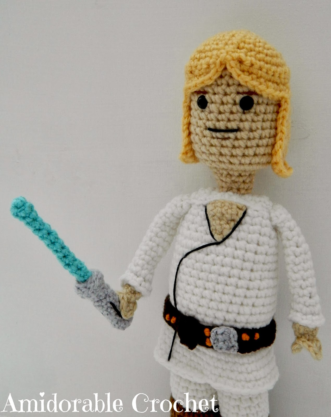 Amigurumi Lego Man : A[mi]dorable Crochet: Luke Skywalker Lego Man Pattern