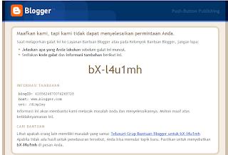 blogger error bX-l4u1mh
