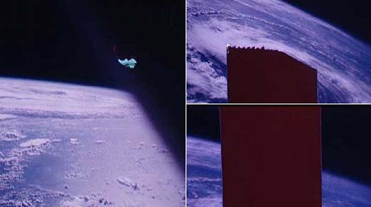 Astronautas de la misión Apolo son acusados ocultar un OVNI con cinta adhesiva