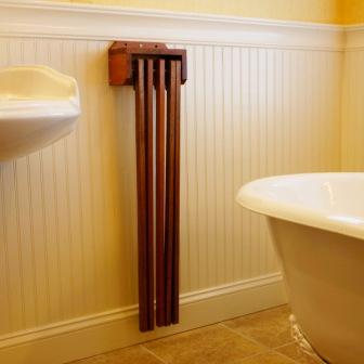 by the pool is not the only place you need a hanging towel rack your bathroom utility room garage or practically anywhere is a great place for the towel