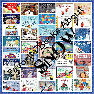 """Children's Picture Book RoundUP on Winter/Snow Theme with Crafts at """"PreK+K Sharing"""""""