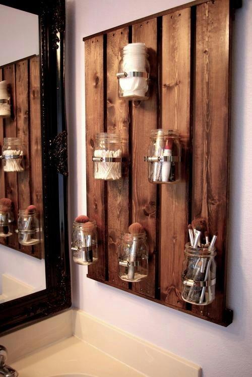 die-wohngalerie: holzregale im bad - der neue trend im badezimmer!, Hause ideen