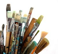 the artists brush