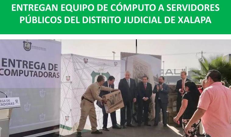 SERVIDORES PÚBLICOS DEL DISTRITO JUDICIAL DE XALAPA