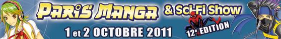 Paris Manga & Sci-Fi Show en octobre 2011