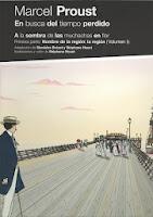 En busca del tiempo perdido. A la sombra de las muchachas en flor (volumen I),Marcel Proust , Stephane Heuet,Sexto Piso  tienda de comics en México distrito federal, venta de comics en México df