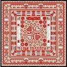 "SAL DELFT RED ""Love To Stitch""  2013"