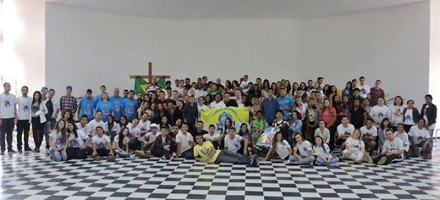 Juventude Missionária no Brasil celebra 10 anos