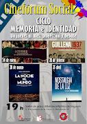 CINEFÓRUM SOCIAL-CICLO MEMORIA E IDENTIDAD
