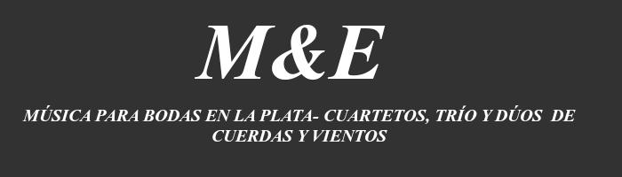 MÚSICA PARA BODAS EN LA PLATA- CUARTETOS, TRÍO Y DÚOS  DE CUERDAS Y VIENTOS -