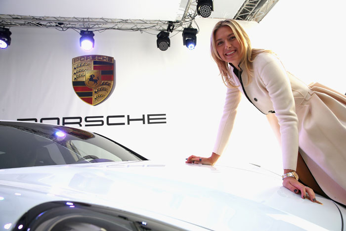 Maria Sharapova nos presenta su Porsche Panamera GTS
