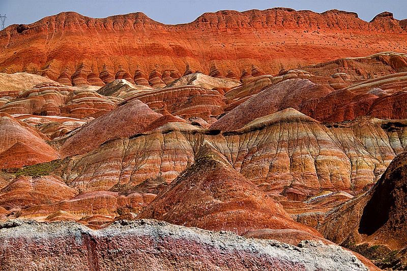 Zhangye Danxia Landform Geological Park, Gansu, China