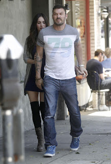 Megan Fox and Brian Austin Green trying to hide that Fox is pregnant