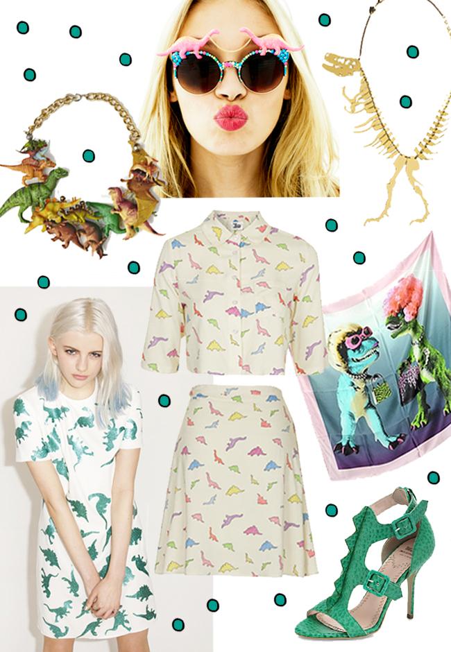 dinosaurs, fashion, trend 2015