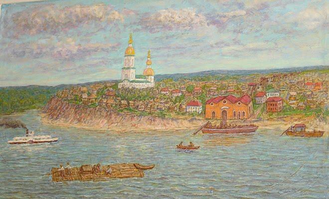 Бердский художник Владимир Шарнин