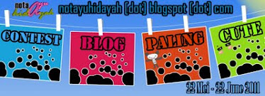 cik ayu buat contest: blog paling cute!!!