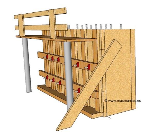 Talleriii utp cap 2 enconfrado de madera - Muro de madera ...