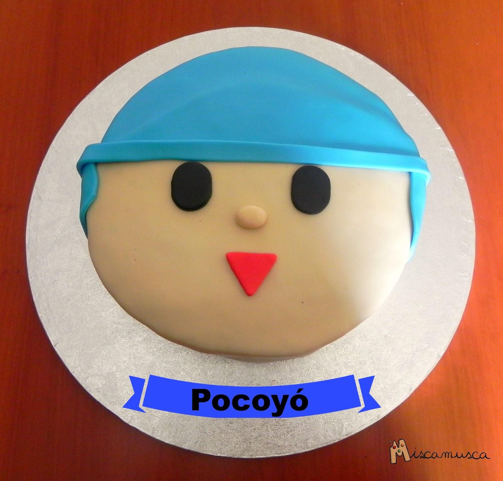 Pastel fondant Pocoyo