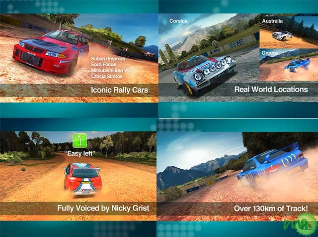 Colin McRae Rally android apk game screenshots