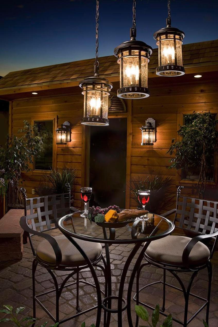 Rustic Outdoor Lighting