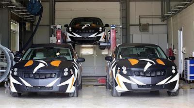 TÜBİTAK 'Turkish National Car' Prototypes (2015) Front