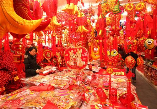 Unique Decoration For Chinese New Year Celebration