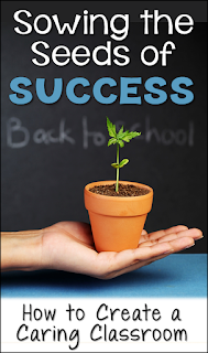 Learn how to sow the seeds of success during the first week of school! Blog post includes a link to a free webinar recording by five of your favorite upper elementary bloggers!