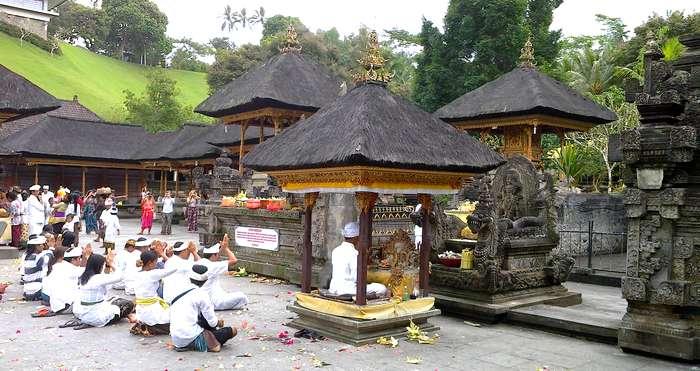 Pura Tirta Empul in Tampaksiring, Gianyar, Bali