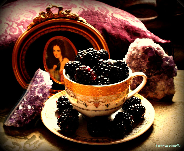 Tea, Amethyst and Blackberries