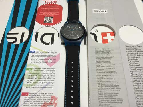 Swatch SISTEM51の内容物