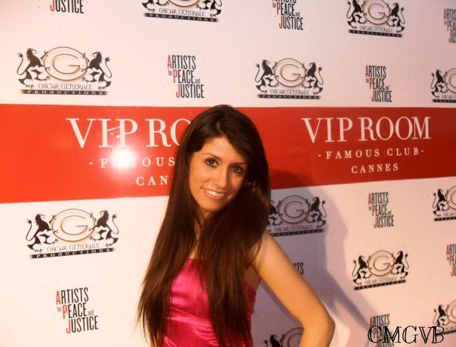 Diana Dazzling VIP Room Cannes cmgvb como me gusta vivir bien