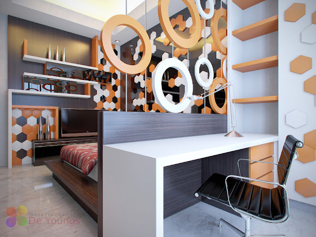 Escritorio en dormitorio fotos de oficinas y escritorios - Escritorio dormitorio ...