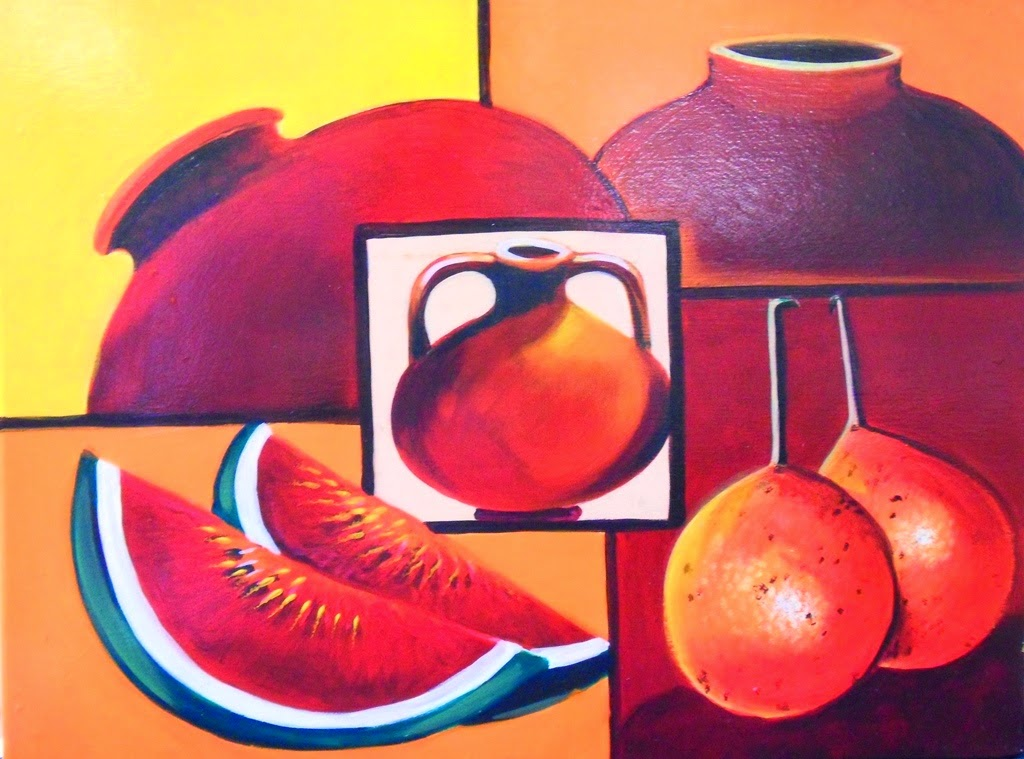 Cuadros modernos pinturas y dibujos dise os de bodegones - Pinturas bodegones modernos ...
