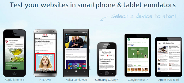 How to test your responsive website in different mobile and tablets through your pc