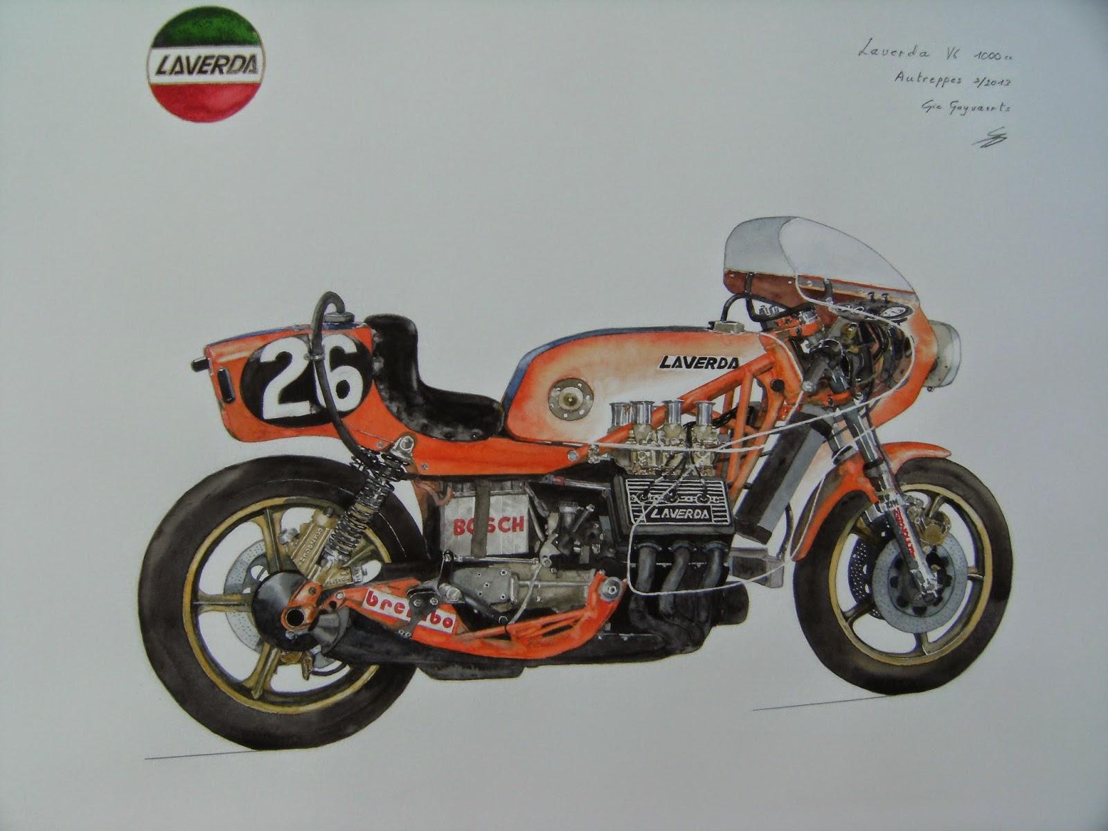 Laverda v6 endurance racer