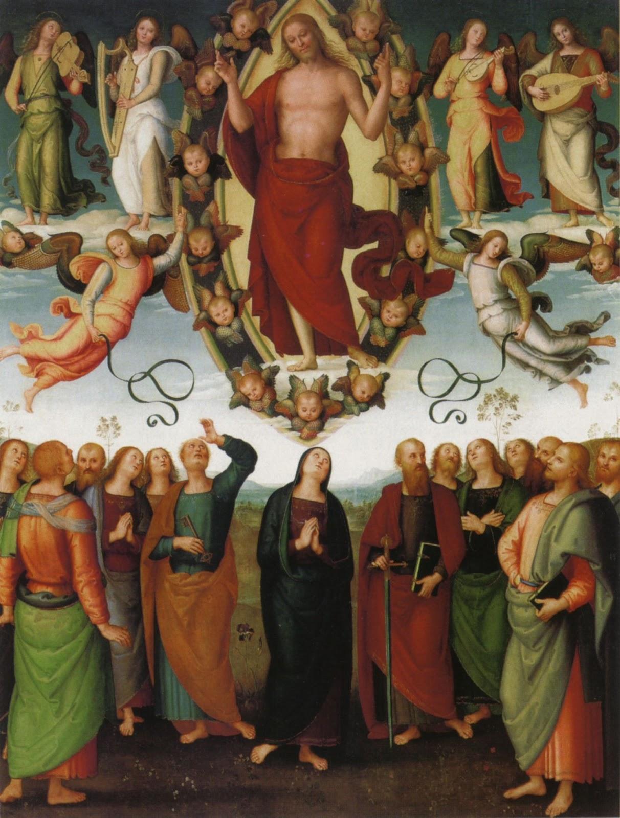 Ascension of Jesus - Wikipedia