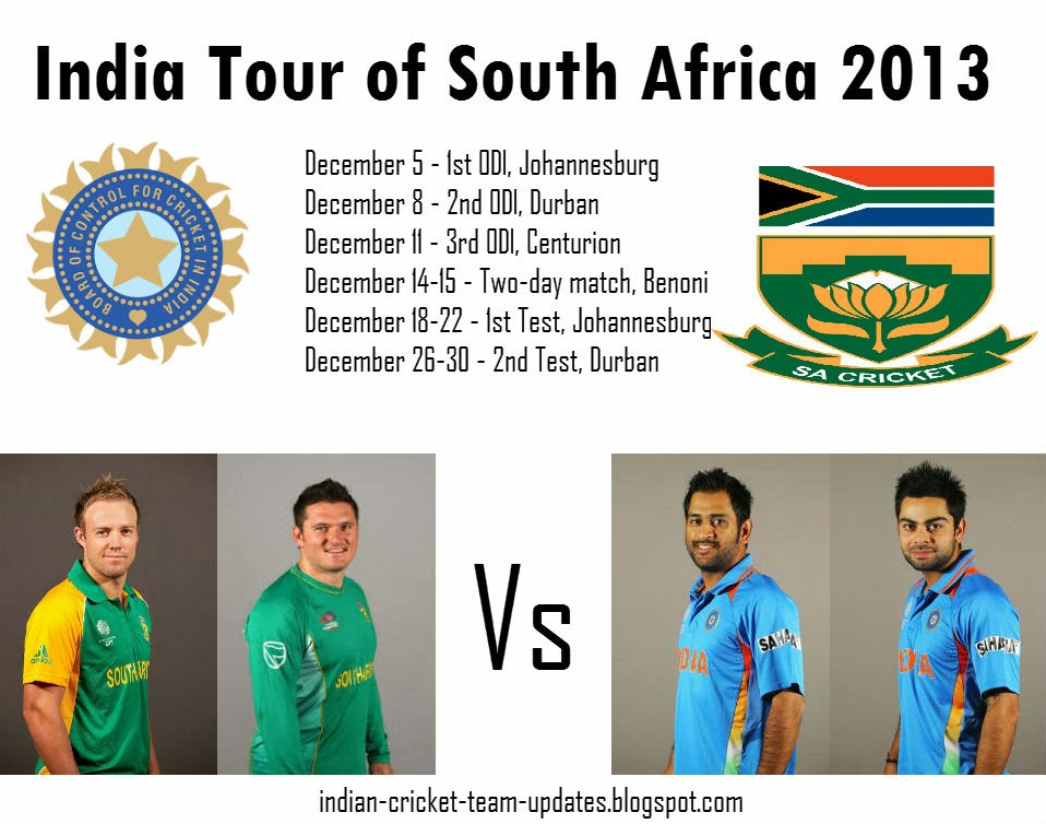 India-Tour-of-South-Africa-2013