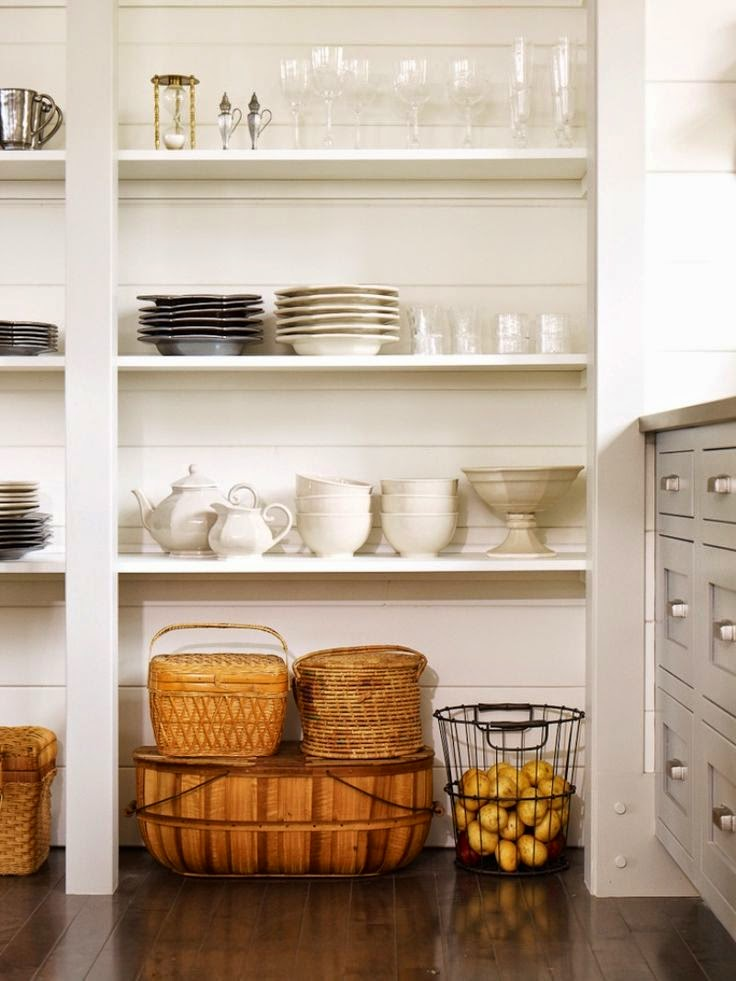 kitchen basket storage